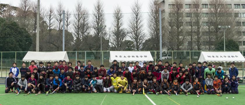 2月5日第2回少年男子ホッケークリニック 指導東京ガス