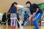 日野学園小学生対象ホッケー教室